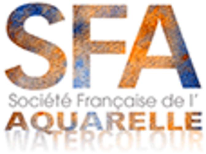 Sennelier, l''acquerello esclusivo della Società Francese d'Acquerello. logo-sfa-2019-site10