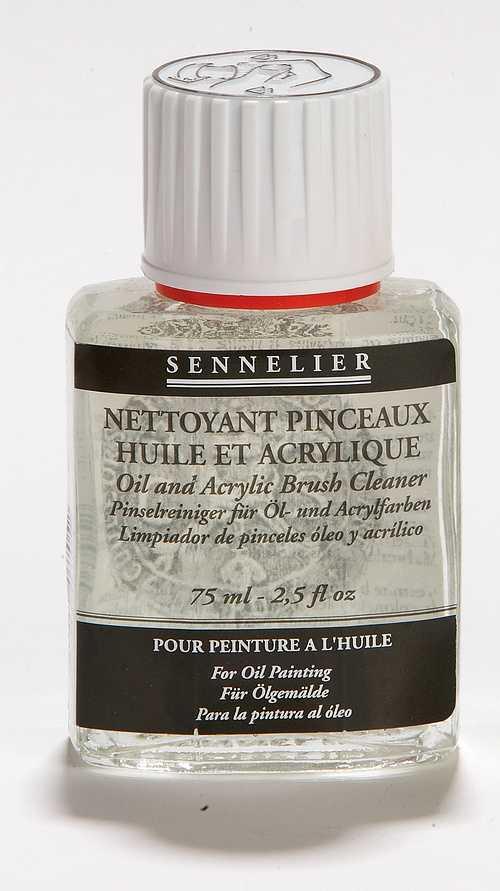 Agente Pulente per pennelli olio e acrilico 0