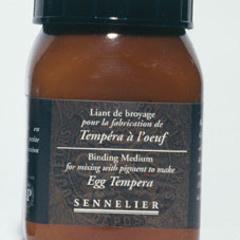 legante di macinatura tempera all uovo